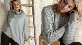 maglia jaquard - maglia asimmetrica